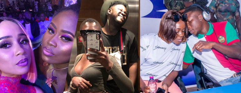 Photo of Photos & Videos Of how Some Ghanaian Celebrities Entered The Year 2020