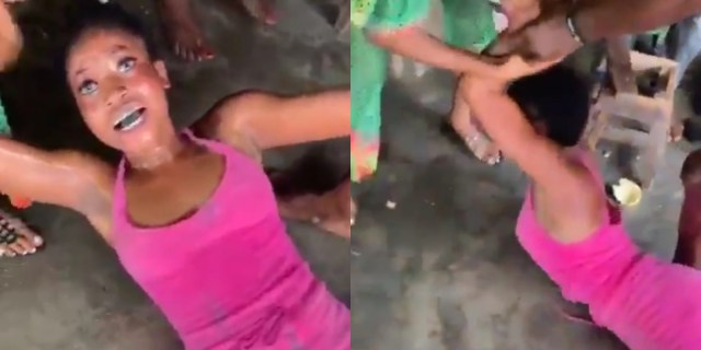 Lady Runs Mad After Taking Tramadol