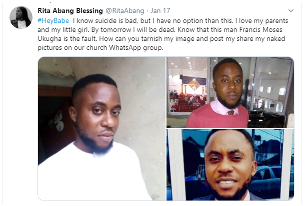 Lady goes wild after pastor allegedly shared her nude photos in church's Whatsapp group