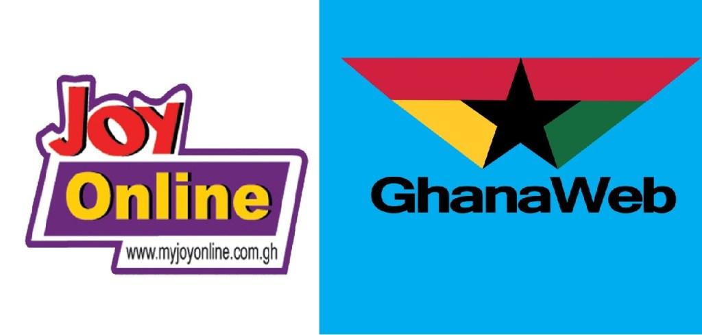 MyJoyOnline and Ghanaweb