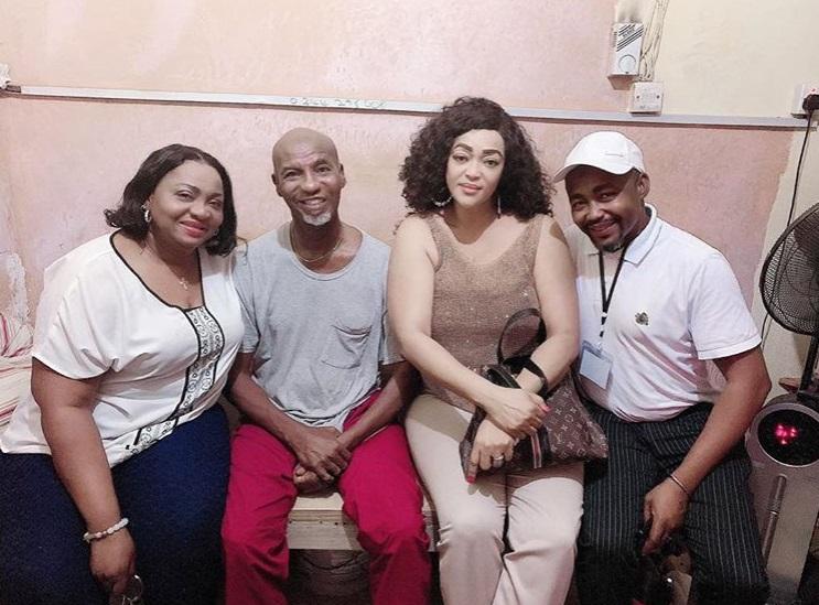 Kalsoume Sinare Baffoe and Vivienne Adjo Achor