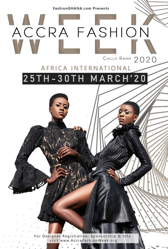 Photo of Accra Fashion Week Chilly Rainy 2020 Set To Hold from 25th-30th March 2020