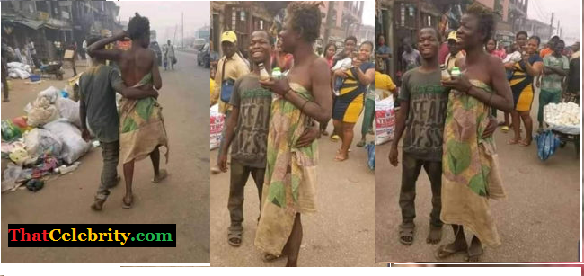 Mentally Challenged Couple Spotted Celebrating Valentine's Day In Town (photos) -