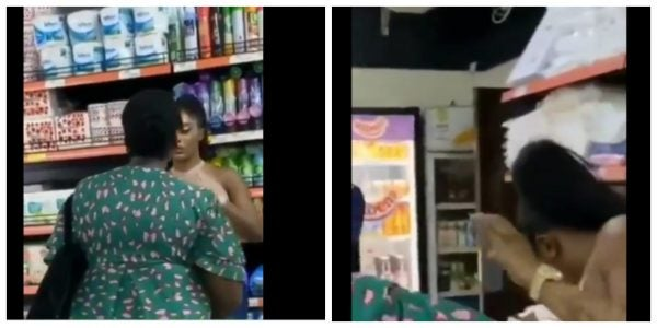 Photo of Sidechick Do Yawa – Married Woman Beats Up Her Husband's Sidechick Because She Had Anal Sex With Him – Video
