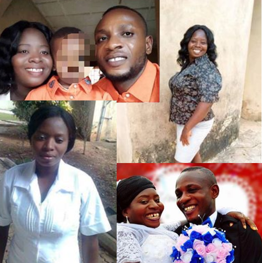 Photo of Pregnant Nurse, who was the breadwinner beaten to death by Husband