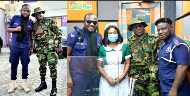 Photo of Ghanaians blast Adom FM presenters for not practicing 'social distancing' in their May Day Photos