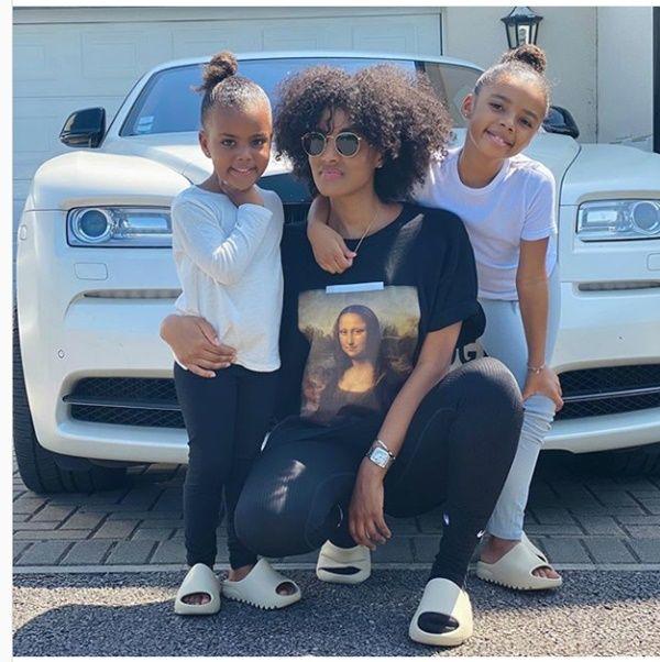 Footballer Dede Ayew's Wife & Kids