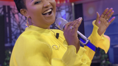 Photo of Ama McBrown takes her followers back to the 20s with beautiful yellow dress [Photo]