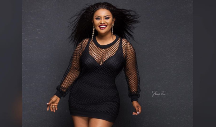 Nana Ama McBrown gets social media talking with her wicked pose