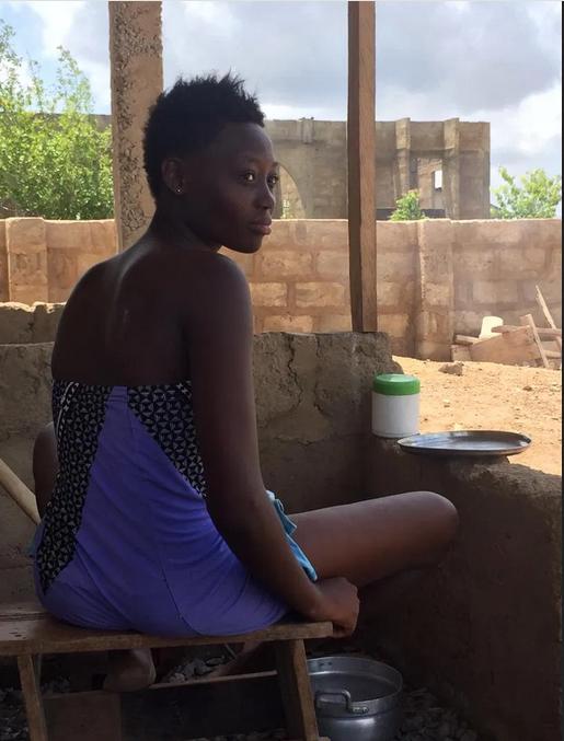 DORCAS THE MODEL, World's next supermodel discovered herding cows in Ghana