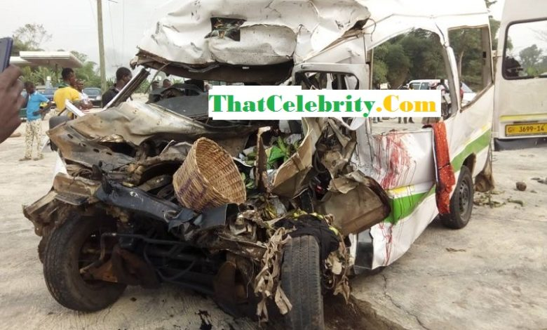accident on Obuasi-Dunkwa road